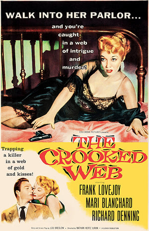 The Crooked Web - 1955 - Movie Poster