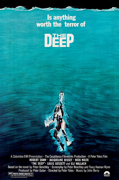 The Deep - 1977 - Movie Poster Magnet – Poster-Rama