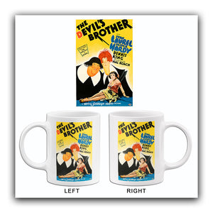 The Devil's Brother - Laurel & Hardy - 1933 - Movie Poster Mug