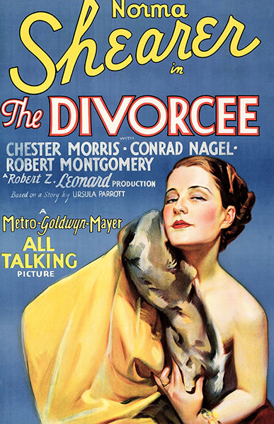 The Divorcee - 1930 - Movie Poster