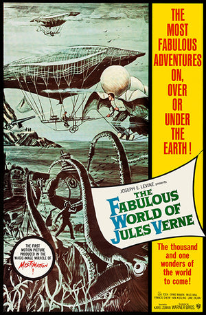The Fabulous World Of Jules Verne - 1961 - Movie Poster