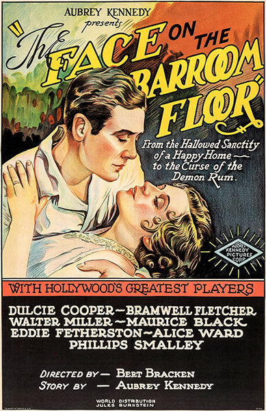 The Face On The Bar Room Floor - 1932 - Movie Poster
