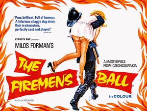 The Firemen's Ball - 1967 - Movie Poster