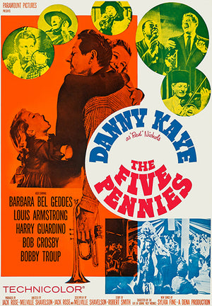 The Five Pennies - 1959 - Movie Poster