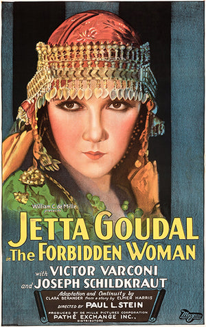 The Forbidden Woman - 1927 - Movie Poster Magnet