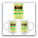 The Four Seasons - 1969 - New Hampshire College - Concert Mug