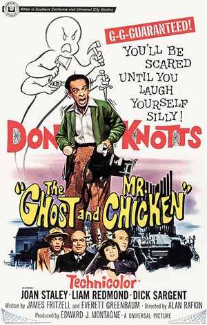 The Ghost And Mr. Chicken - 1966 - Movie Poster