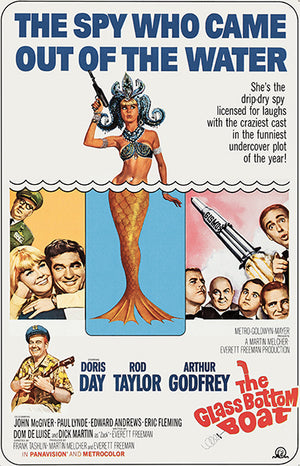 The Glass Bottom Boat - 1966 - Movie Poster