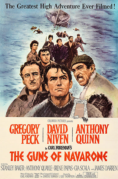 The Guns Of Navarone - 1961 - Movie Poster