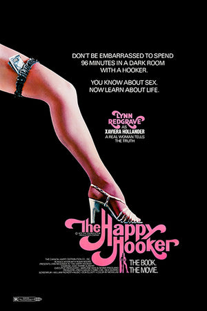The Happy Hooker - 1975 - Movie Poster