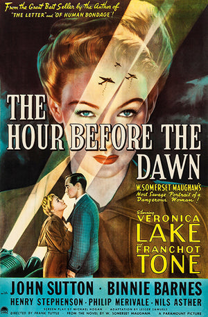 The Hour Before Dawn - 1944 - Movie Poster