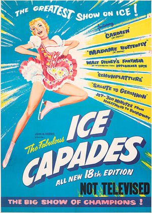 The Ice Capades - 1957 - Show Magnet