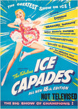 The Ice Capades - 1957 - Show Poster