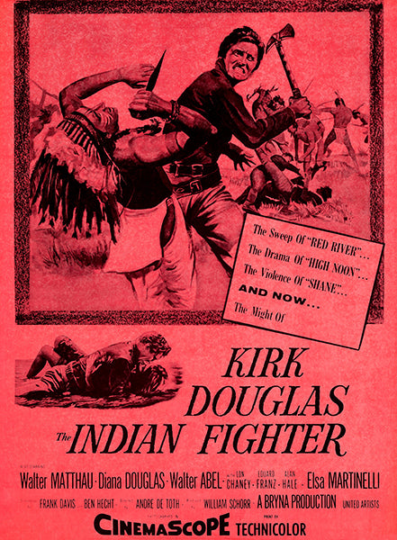 The Indian Fighter - 1960 - Movie Poster