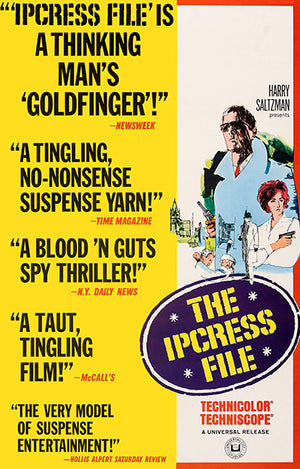 The Ipcress File - 1965 - Movie Poster