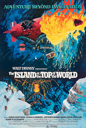 The Island At The Top Of The World - 1974 - Movie Poster Magnet