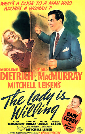The Lady Is Willing - 1942 - Movie Poster