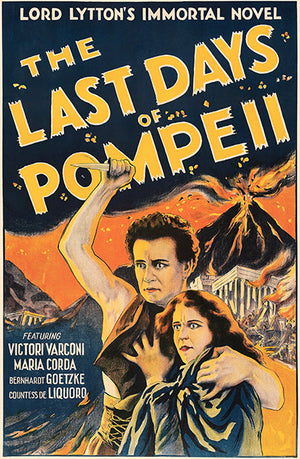 The Last Days Of Pompeii - 1926 - Movie Poster