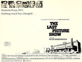 The Last Picture Show - 1971 - Movie Poster