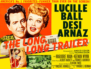 The Long, Long Trailer - 1954 - Movie Poster
