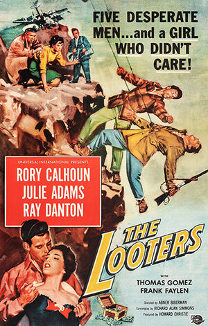 The Looters - 1955 - Movie Poster