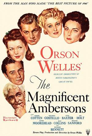 The Magnificent Ambersons - 1942 - Movie Poster