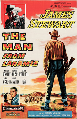 The Man From Laramie - 1955 - Movie Poster