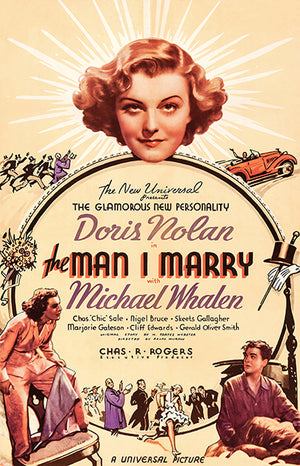 The Man I Marry - 1936 - Movie Poster Magnet