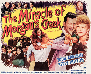 The Miracle Of Morgan's Creek - 1944 - Movie Poster