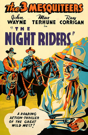 The Night Riders - 1939 - Movie Poster