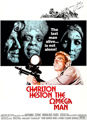 The Omega Man - 1971 - Movie Poster