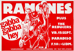 The Ramones - 1978 - Paradiso Amsterdam - Concert Magnet