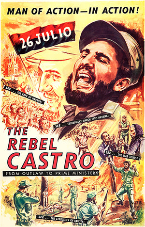 The Rebel Castro - 1960 - Movie Poster