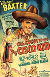 The Return Of The Cisco Kid - 1939 - Movie Poster