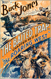 The Roaring West - The Baited Trap - 1935 - Movie Poster