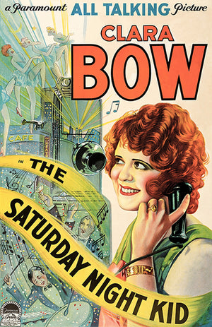 The Saturday Night Kid - 1929 - Movie Poster Magnet