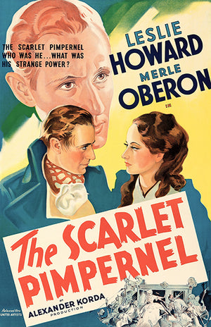The Scarlet Pimpernel - 1935 - Movie Poster
