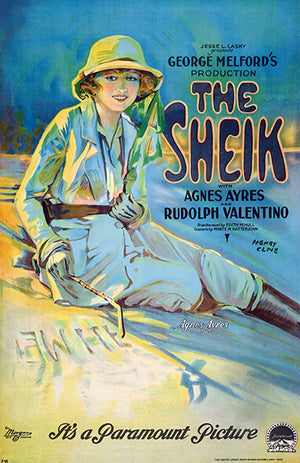 The Sheik - 1921 - Movie Poster