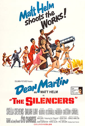 The Silencers - 1966 - Movie Poster Magnet