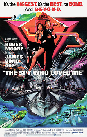 The Spy Who Loved Me - 1977 - Movie Poster