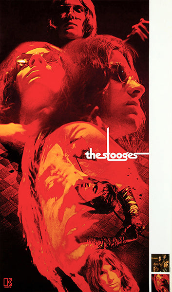 The Stooges - 1970 - Fun House - Album Release Promo Poster