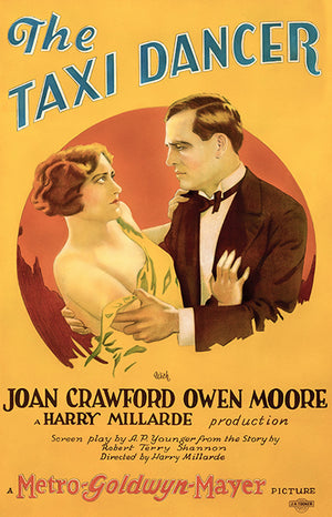 The Taxi Dancer - 1927 - Movie Poster
