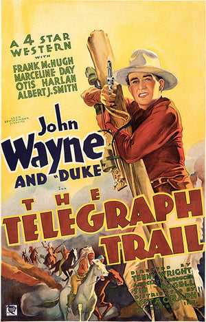 The Telegraph Trail - 1933 - Movie Poster