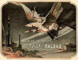 The Thief Of Bagdad - 1924 - Movie Poster