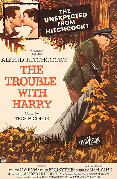 The Trouble With Harry - 1955 - Movie Poster