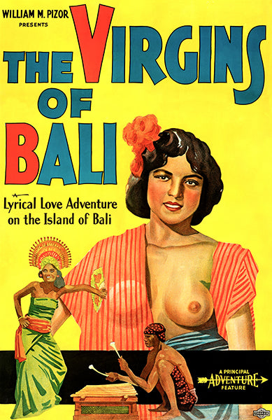 The Virgins Of Bali - 1932 - Movie Poster