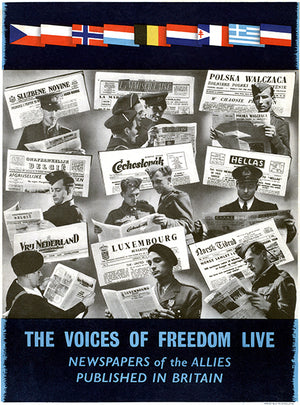 The Voices Of Freedom Live - 1940's - World War II – Propaganda Magnet