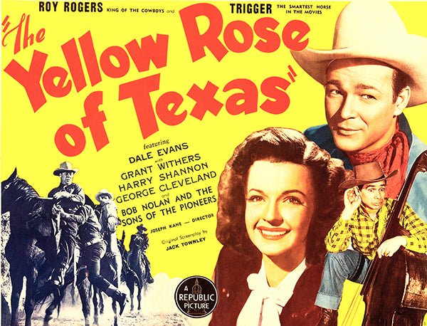 The Yellow Rose Of Texas - 1944 - Movie Poster