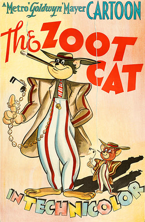 The Zoot Cat - Tom & Jerry - 1944 - Movie Poster