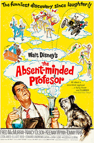 The Absent-Minded Professor - 1961 - Movie Poster